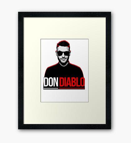 Don Diablo Framed Print