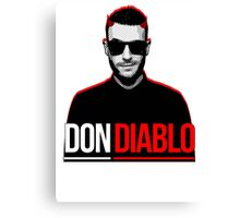 Don Diablo Canvas Print