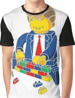 Build A Wall Trump T-Shirt T-Shirt Graphic T-Shirt