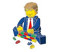 Build A Wall Trump T-Shirt T-Shirt Photographic Print