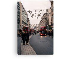 Oxford Street London Canvas Print