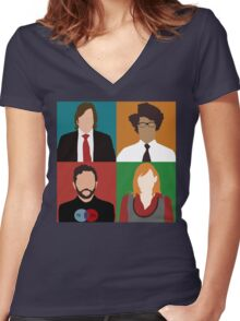 IT Crowd Women's Fitted V-Neck T-Shirt