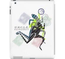 UNCLE basketball iPad Case/Skin