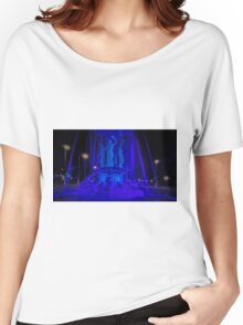 """""""The Fountain"""" all in Blue Women's Relaxed Fit T-Shirt"""