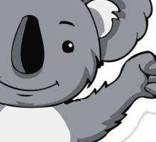 My Puns Are Koala Tee Sticker
