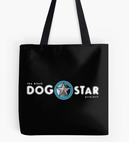 The Black Dog Star Project Tote Bag