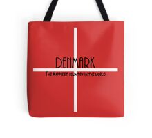 Denmark - Happiest Country in the world Tote Bag