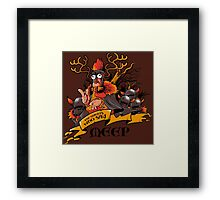 The knights who say... Framed Print