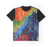 Aerial View - Abstract Graphic T-Shirt