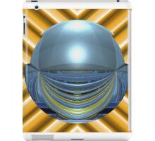 Spherically Mirrored Sunlit Stadium  iPad Case/Skin