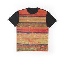 Orange Stripes Graphic T-Shirt