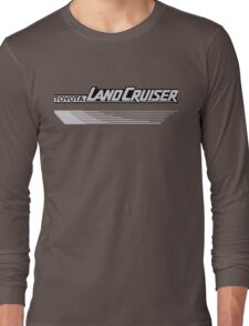 Land Cruiser body art series, grey lines Long Sleeve T-Shirt