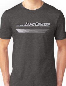 Land Cruiser body art series, grey lines Unisex T-Shirt