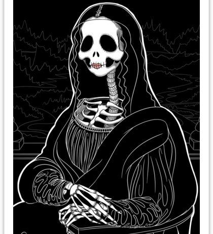 Mona Skullisa Sticker