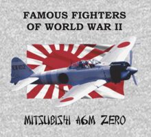 Famous Fighters - A6M Zero Kids Tee