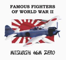 Famous Fighters - A6M Zero One Piece - Long Sleeve