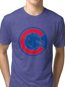 Chicago Cubs Logo HD Tri-blend T-Shirt
