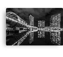 Web Bridge , Melbourne Canvas Print