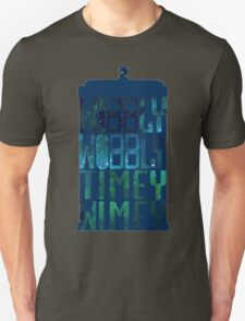 Wibbly Wobbly Timey Wimey Tardis - Doctor Who  T-Shirt