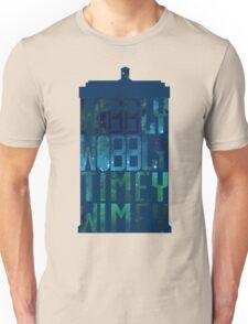 Wibbly Wobbly Timey Wimey Tardis - Doctor Who  Unisex T-Shirt