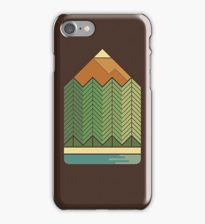 Drawing Mountains iPhone Case/Skin