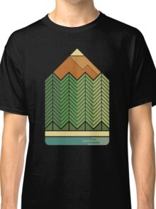 Drawing Mountains Classic T-Shirt
