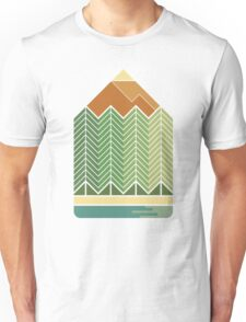 Drawing Mountains T-Shirt