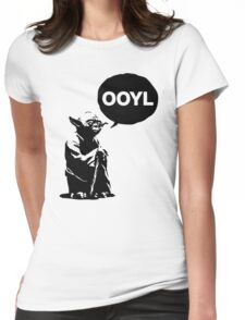 oy oy oy Womens Fitted T-Shirt