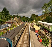 Goathland Station  by Rob Hawkins