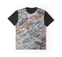 Natural Slate Pattern Graphic T-Shirt