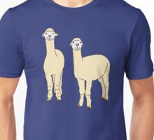 Happy Alpaca Twin Unisex T-Shirt