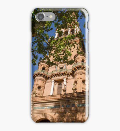 Plaza de Espana Tower iPhone Case/Skin