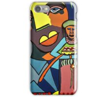 African Traditional Tribal Women Abstract Art Canvas Painting for Women, Girls, Ladies, Kids 6 iPhone Case/Skin