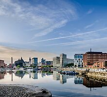 Salthouse Dock Liverpool by David Bradbury