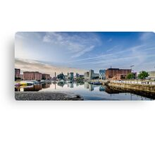 Salthouse Dock Liverpool Canvas Print