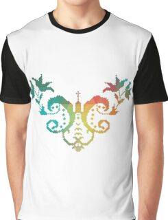 Rainbow traditional pattern Graphic T-Shirt