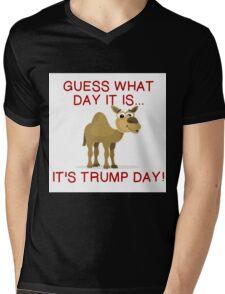 IT'S TRUMP DAY Mens V-Neck T-Shirt