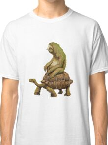 Funny Turtle,Fast,Animal,Lucky Turtle,Ninja,Speed Classic T-Shirt