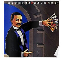 blue oyster cult agents of fortune Poster