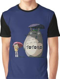 Totoro, Satsuki and Mei Graphic T-Shirt