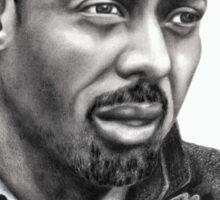 Idris Elba b&w image Sticker