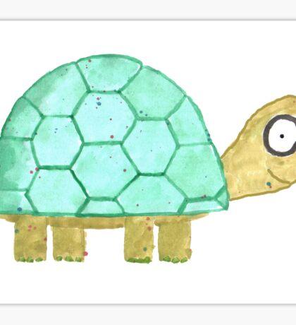 Tortoise Celebrate/Greetings Card Sticker