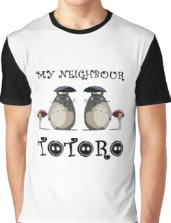 Totoro, Satsuki and Mei - symmetry Graphic T-Shirt