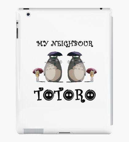 Totoro, Satsuki and Mei - symmetry iPad Case/Skin