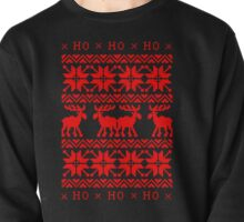 CHRISTMAS DEER SWEATER KNITTED PATTERN Pullover