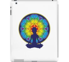 Flower of Life Meditation iPad Case/Skin