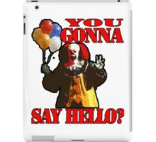 Pennywise the Clown - IT by Stephen King iPad Case/Skin