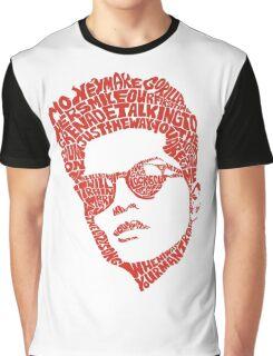 bruno mars thypography RC Graphic T-Shirt