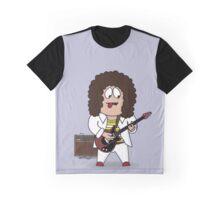 Queen's Brian May Guitar Hero Graphic T-Shirt
