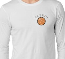 Kuroko No Basuke/Basket - Seirin Bench Uniform Long Sleeve T-Shirt